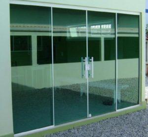 porta de vidro rj