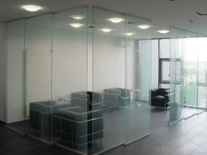divisoria de vidro
