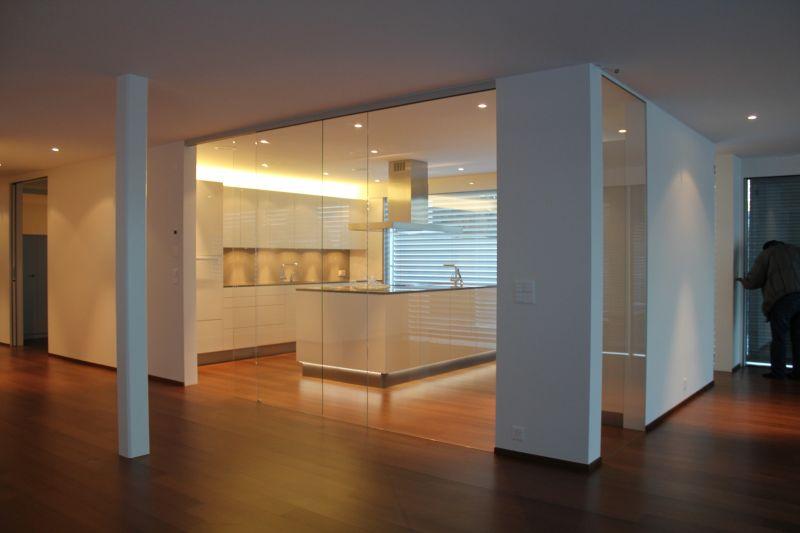 Divis ria de vidro vidra aria vila glass rj - Trennwand glas wohnzimmer ...